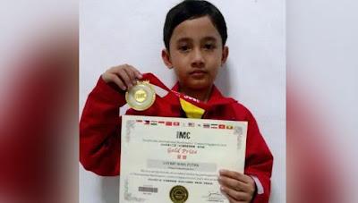 Siswa Madrasah Ini Juarai Olimpiade Matematika Tingkat Dunia