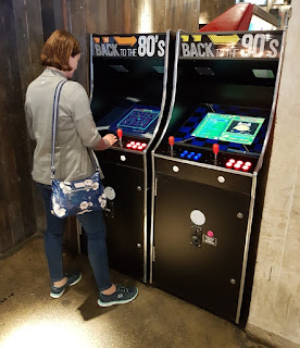 Arcade games at Lane7 in Newcastle