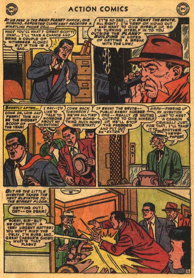 Read online Action Comics (1938) comic -  Issue #201 - 4
