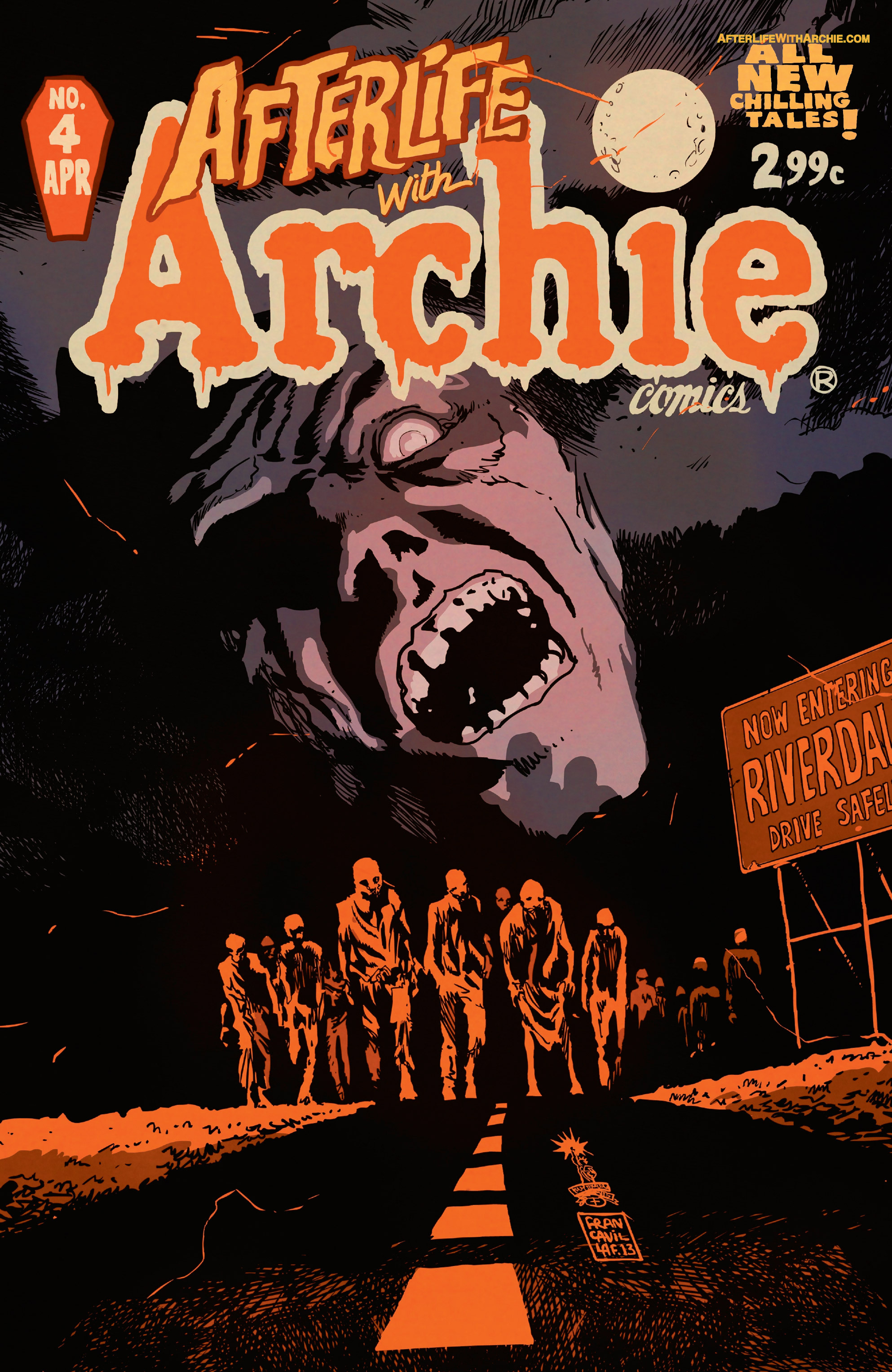 Read online Afterlife with Archie comic -  Issue #4 - 1