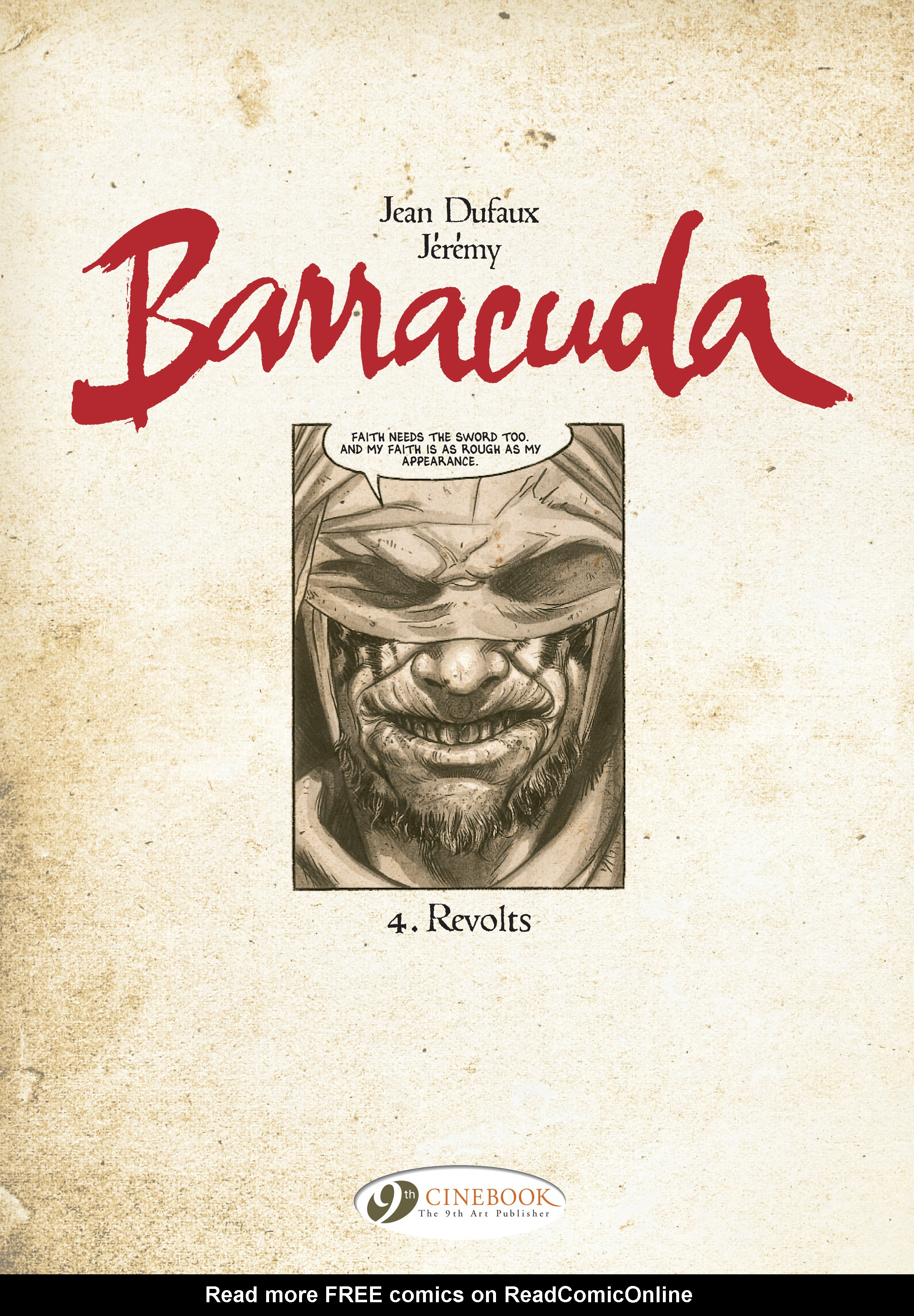Read online Barracuda comic -  Issue #4 - 2