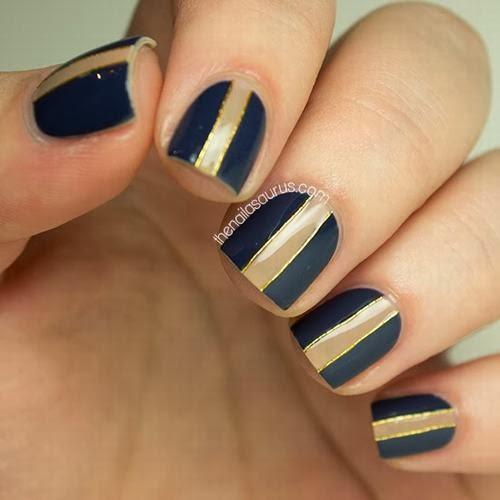 Nail Art Design 2014: Easy Nail Designs for Short Nails