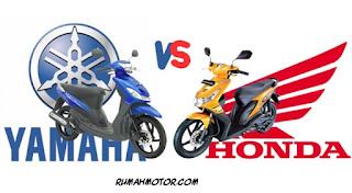 Misteri Mesin Honda dan Yamaha Pada Era 2000an