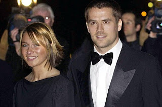 Michael Owen And his wife Louise