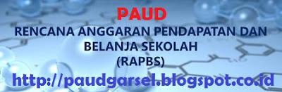 Contoh Format RAPBS PAUD/ TK/ KB/ TPA Lengkap dan Terbaru