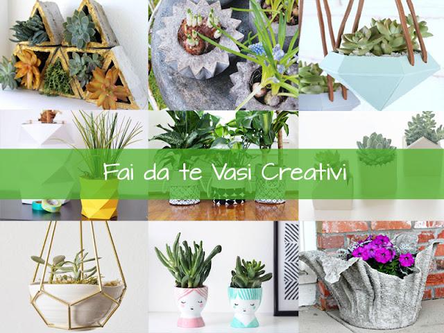 vasi creativi fai da te