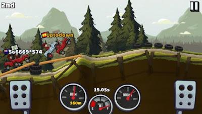 pada kesempatan kali ini saya akan membagikan sebuah game android mod terbaru yang sudah  Hill Climb Racing 2 v1.14.3 Mod Apk (Unlimited Coins+Diamonds)