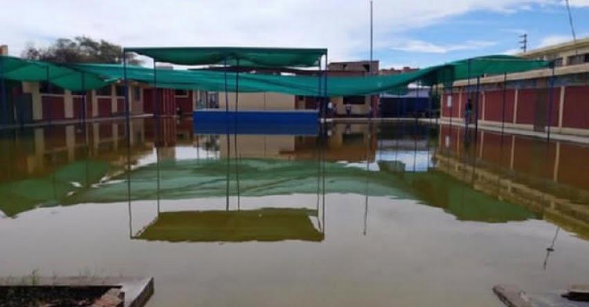 UGEL Lambayeque espera presupuesto para rehabilitar colegios dañados por las lluvias