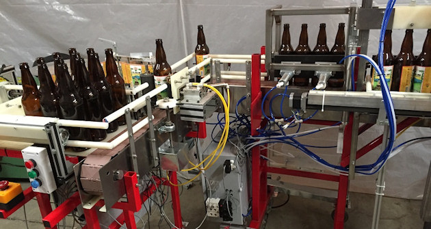 Automated Packaging Line for Microbreweries