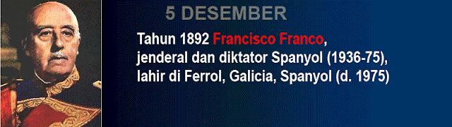 Hari kelahiran Francisco Franco
