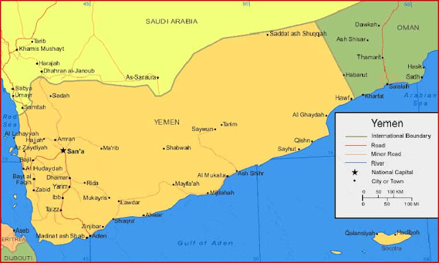 Gambar Peta Yaman
