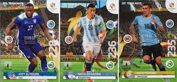 61f09492185 Football Cartophilic Info Exchange  Panini - Copa América Centenario ...