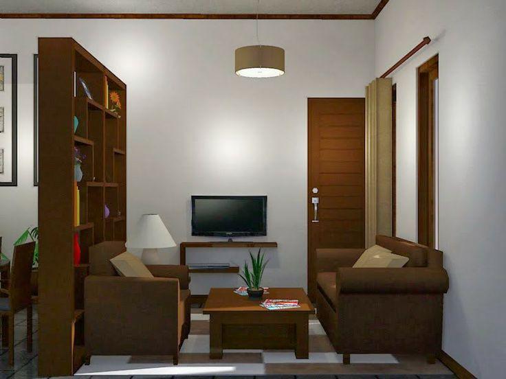 Desain Ruang Tamu Untuk Rumah Minimalis Tipe 45 Desain Rumah