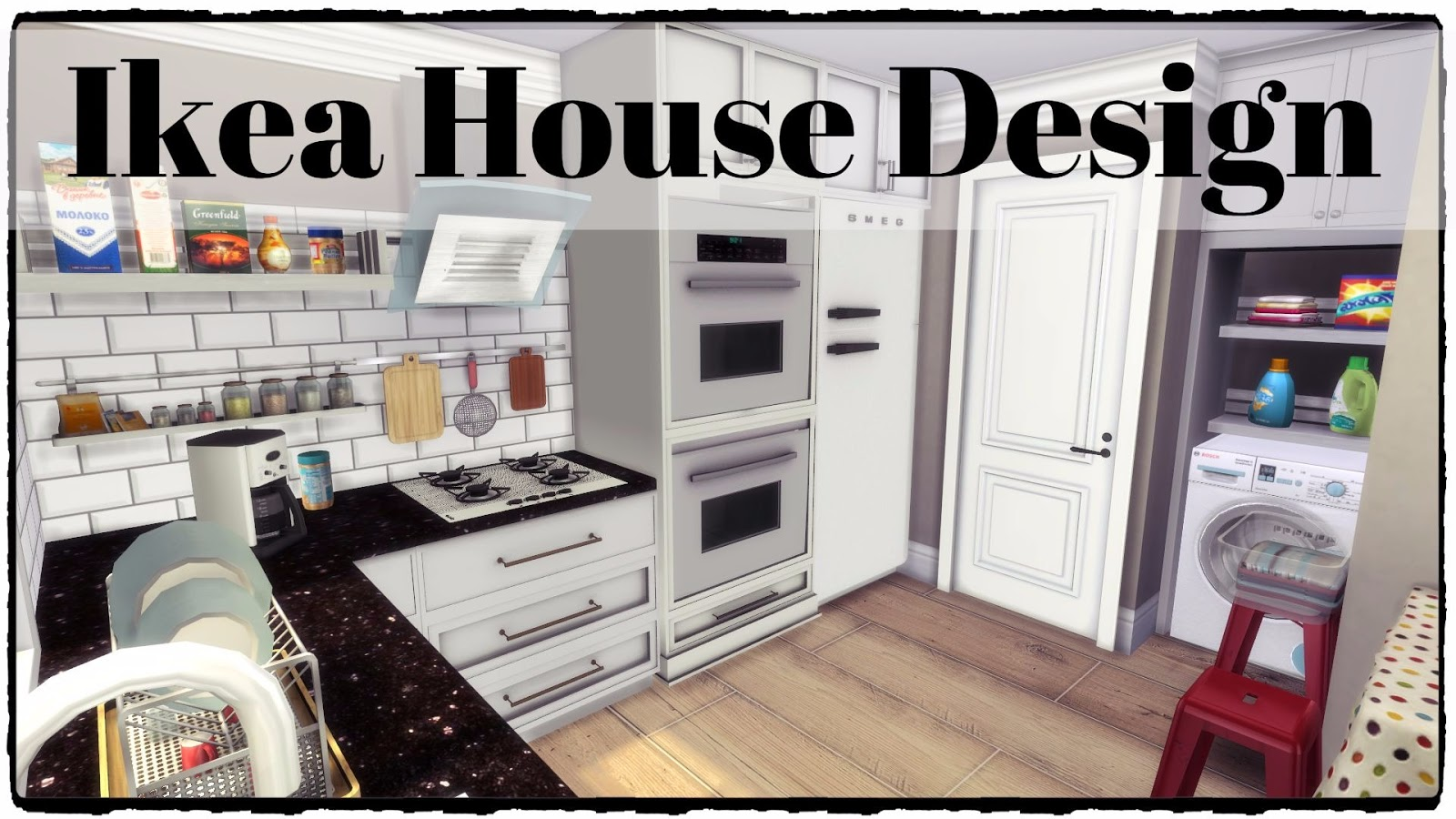 Sims 4 small ikea house download cc creators list for Ikea home design
