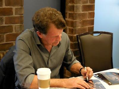 John Noble signing autographs at Shore Leave 38 - Sunday, July 17, 2016