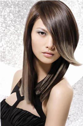 highlighting asian hair