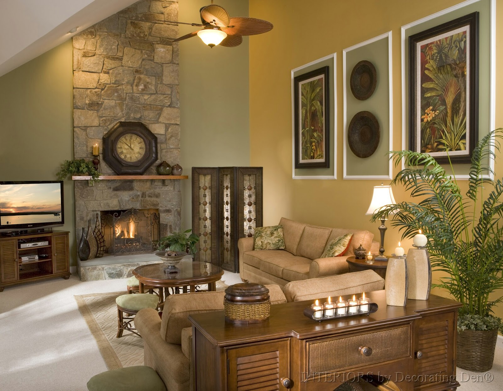 High Ceiling Living Room Ideas How To Decorate A Room With High Ceilings Wagon Wheels