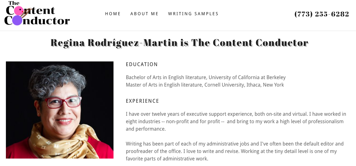 Chicana on the Edge: Virtual assistant and content writer