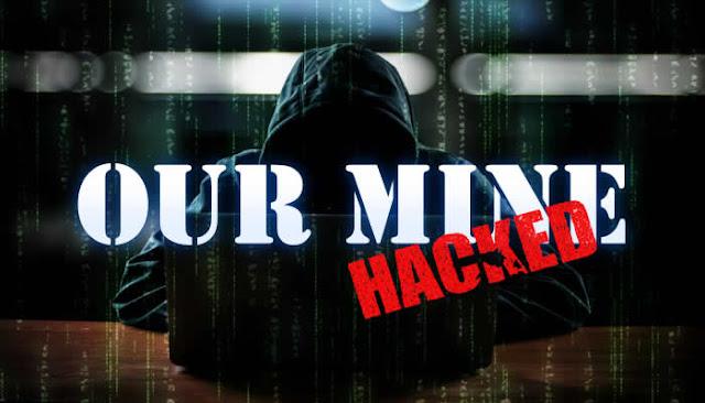 Conhecido por dar dicas de segurança, hackers da OurMine tem site hackeado.