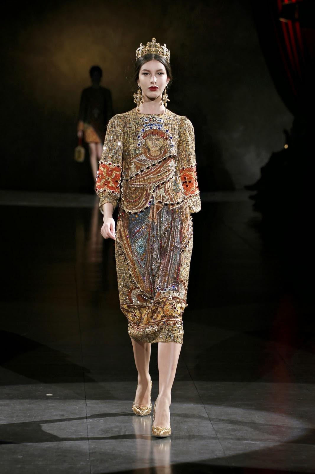 Multimayway: Dolce & Gabbana In Renaissance