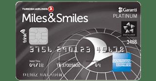 mil kazandıran kredi kartları - miles & smiles - garanti bankası  - seyahat - mil