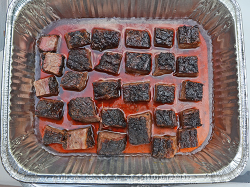 Easy way to make brisket burnt ends, fool proof.