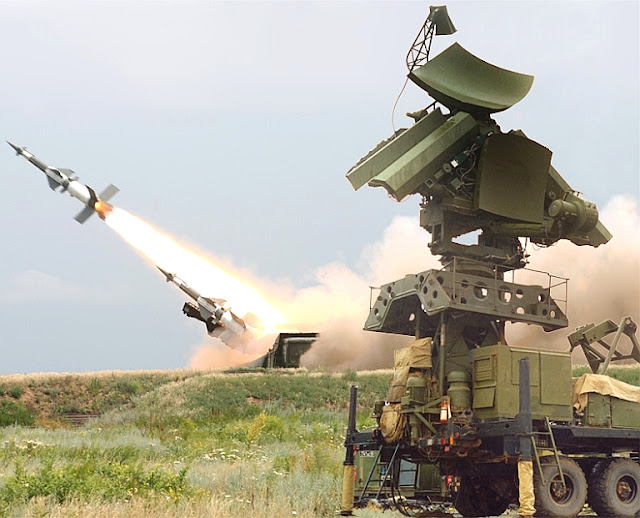 the modern pechora 2m air defence missile systems now protecting the ...
