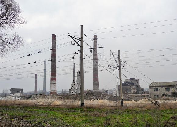 Константиновка. Промышленные пейзажи