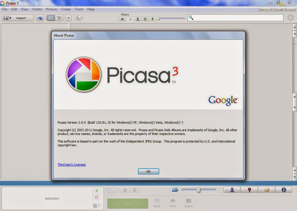 Download Picasa 3 9 Free Crack For Your Images