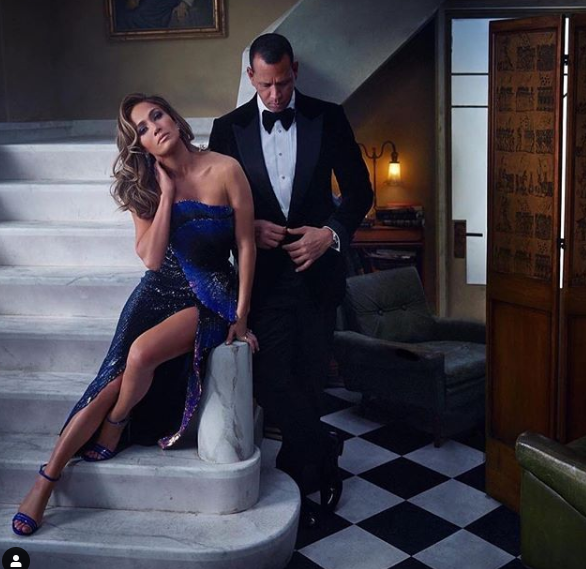 She said Yes! J'lo and A-rod are engaged