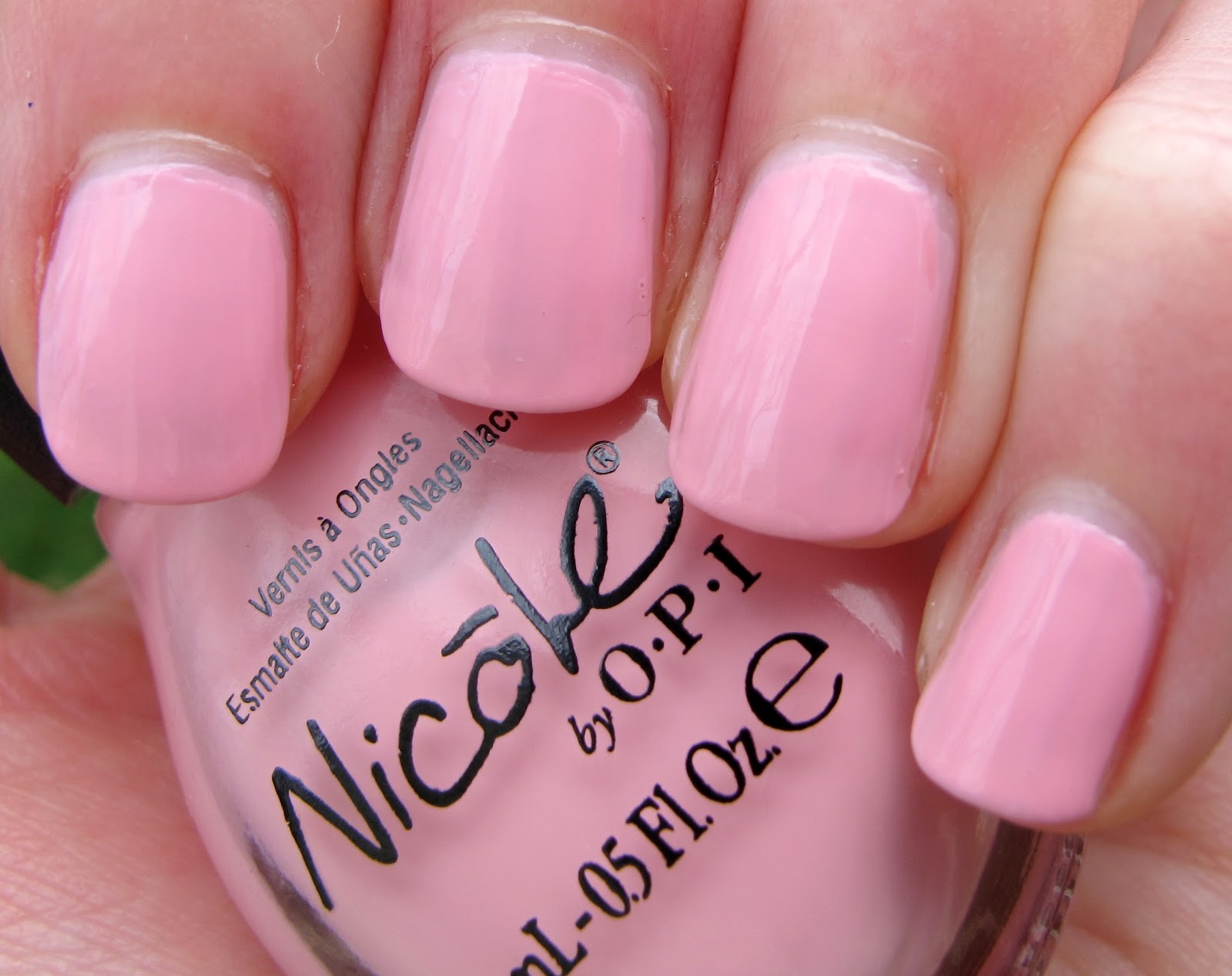Never Enough Nails: Nicole by OPI Wel-Kim To My World Part Two