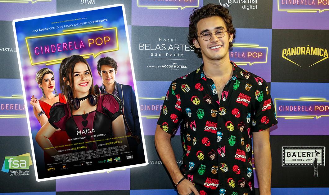 Cinderela Pop: Filipe Bragança fala sobre o filme