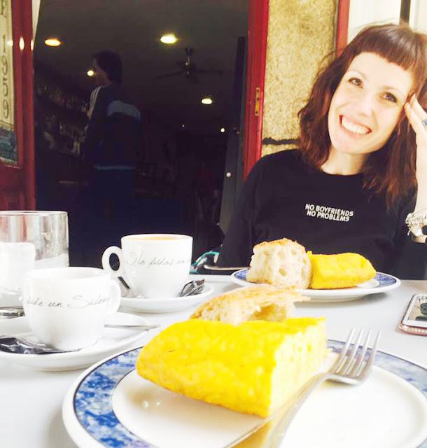 desayunando con mireia