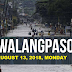 #WalangPasok: Class Suspension August 13, 2018, Monday