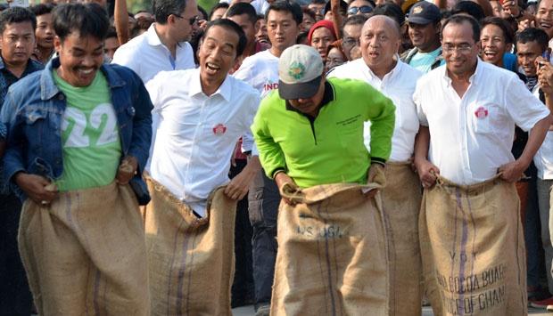 Jokowi Mulai Melorot, Prabowo Unggul