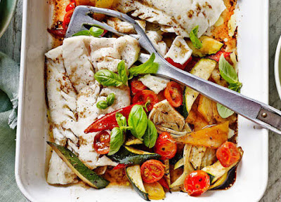 Interesting Nutrition Facts About Fish and Some Recipe Ideas ! Med_Baked-Cod-593