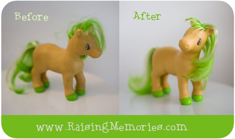 How to Clean Old Toys so they Look New