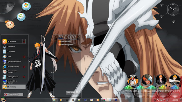 Bleach Theme Win 7 by Andrea_37