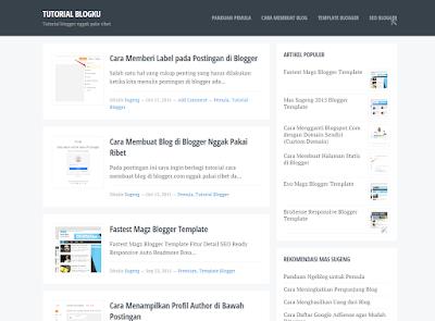 Download Template Blogku - Gratis