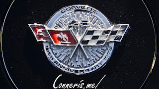 1978 Chevrolet C3 Corvette Pace Car Fuel Door Badge
