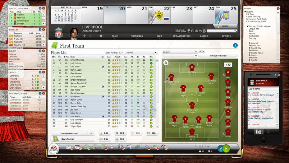 FIFA Manager 14 Screenshot