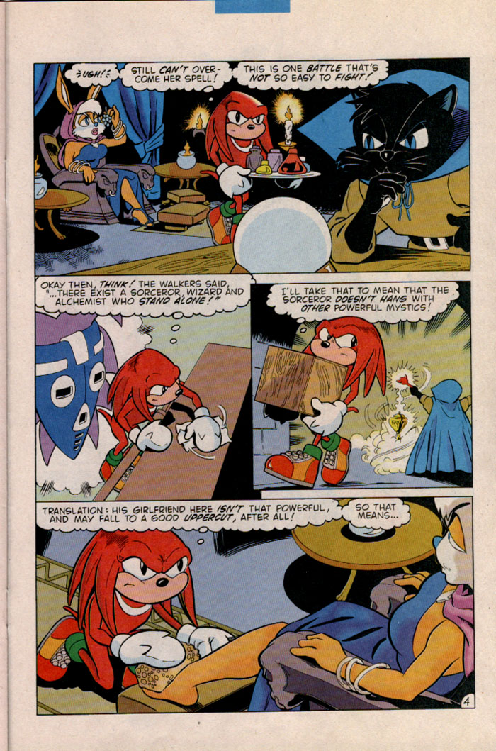 Read online Sonic The Hedgehog comic -  Issue #45 - 23