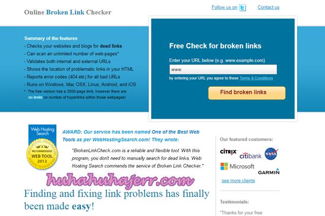 Cara Remove Broken Link Ataupun Dead Link Dari Blog