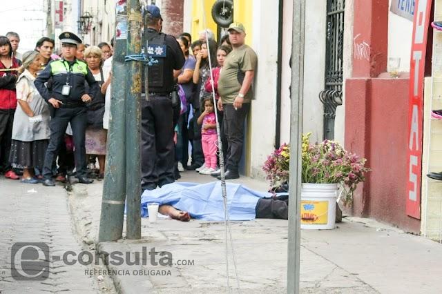 A uno lo matan frente a la academia de policía