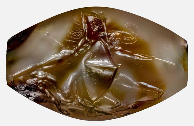 Archaeologists unearth 'masterpiece' sealstone in Mycenaean tomb