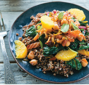 Spicy Chipotle Chickpeas with Silverbeet Recipe