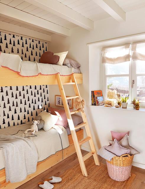idee de amenajare pentru o camera cu doi copii