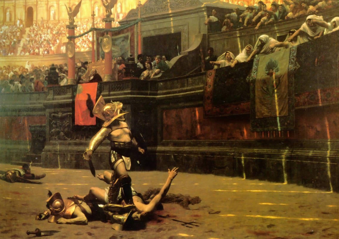 irish diet gladiators were vegan