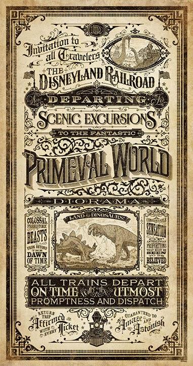 Jeremy Fulton Victorian Mechanical Kingdom Primeval World Walt Disney World Disneyland Steampunk WDW Artist