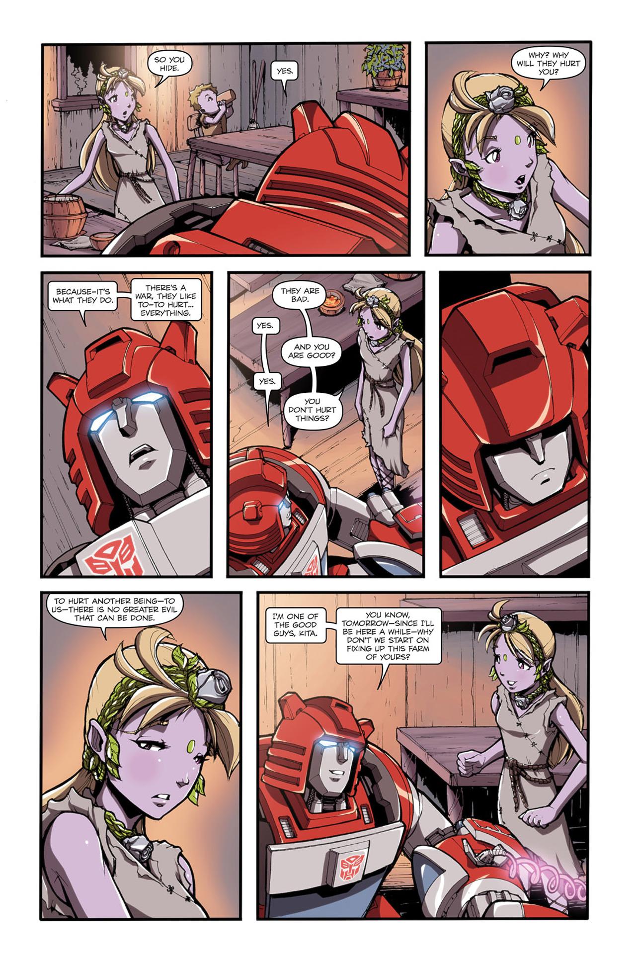Read online Transformers Spotlight: Cliffjumper comic -  Issue # Full - 11